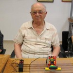 Senior citizen Lego workshop